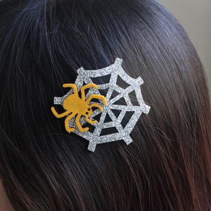 Free shipping, Halloween spider hai..