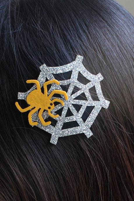 Free shipping, Halloween spider hair clip,spider, Holiday hair clip